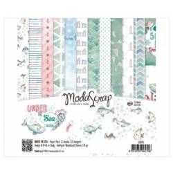 ModaScrap - Paper Pack 15.2x15.2 - Under the sea