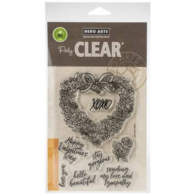 Tampons - Hero Arts - Floral Heart