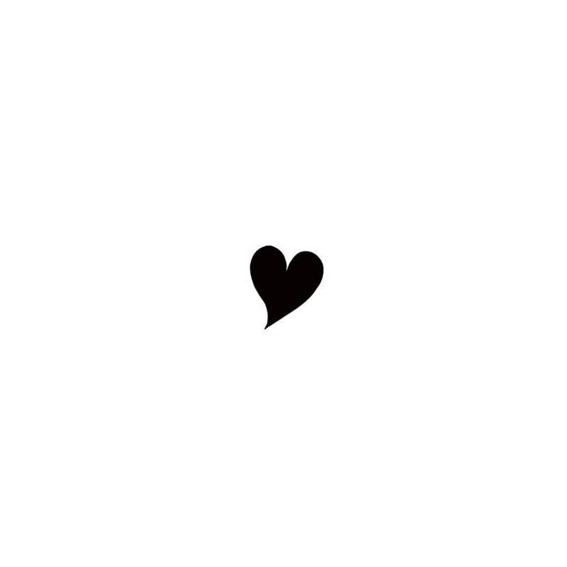 Tampon Clear - Lavinia - Coeur - Heart Miniature