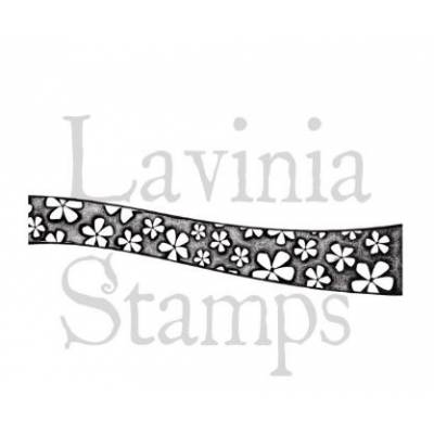Tampon Clear - Lavinia - Bordure Fleur - Border Larger Flower