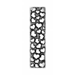 Tampon Clear - Lavinia - Bordure coeur - Heart Border