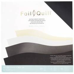Foil Quill - 60 Cardstocks Unis Base Foil - We R memory keepers