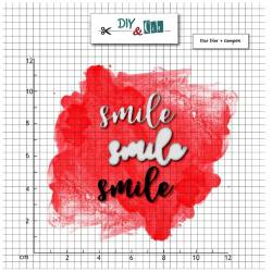 Dies et tampons - Smile - DIY and Cie
