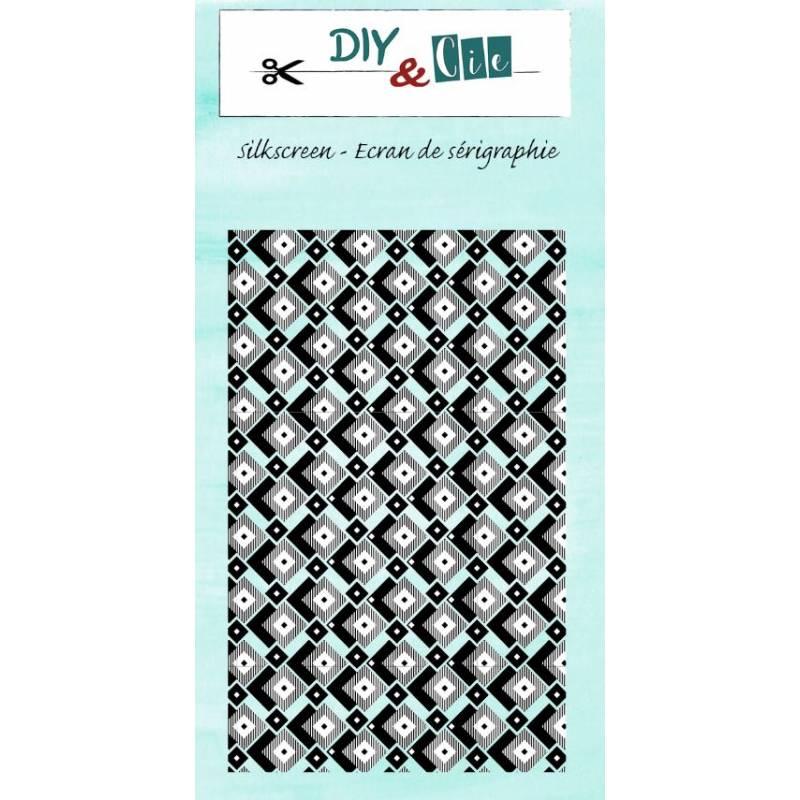 Pochoir Silkscreen - DIY & Cie - Background 6