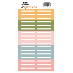 Les Mini Z'étiquettes d'Ephemeria - So' Special