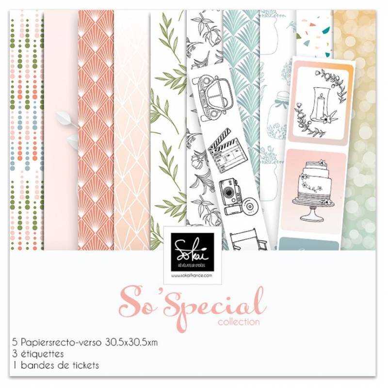 Pack papier 30x30 - Sokai - So' Special