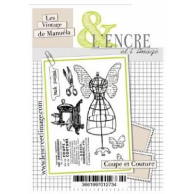Tampons L'Encre & l'Image - Les Vintage de Manuéla Coupe et Couture