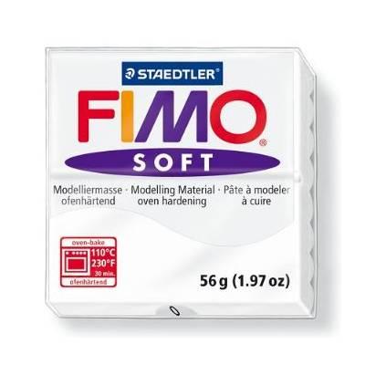 Pâte à modeler 56g - Fimo - Blanc
