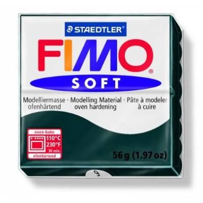 Pâte à modeler 56g - Fimo - Noir