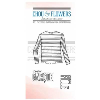 Tampons Clear - Chou & Flowers - Petit côté Famille - Fille ou garçon