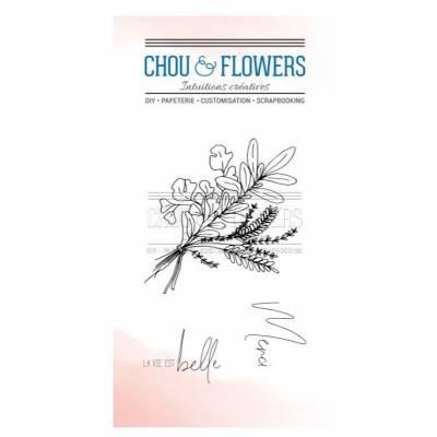 Tampons Clear - Chou & Flowers - Petit côté Jardin - Les aromates