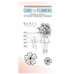 Tampons Clear - Chou & Flowers - Petit côté Jardin - Spring melody