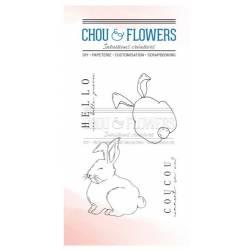 Tampons Clear - Chou & Flowers - Petit côté Jardin - Coucou