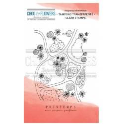 Tampons Clear - Chou & Flowers - Petit côté Jardin - Printemps