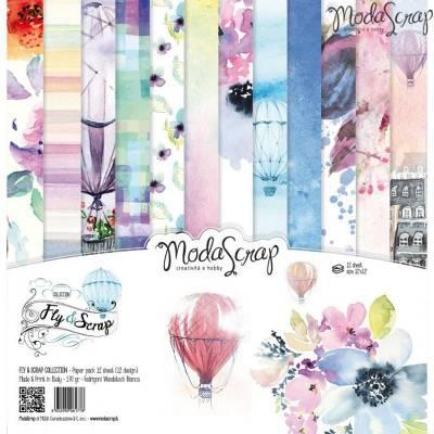ModaScrap - Paper Pack 30.5 cm x 30.5 cm - Fly & Scrap