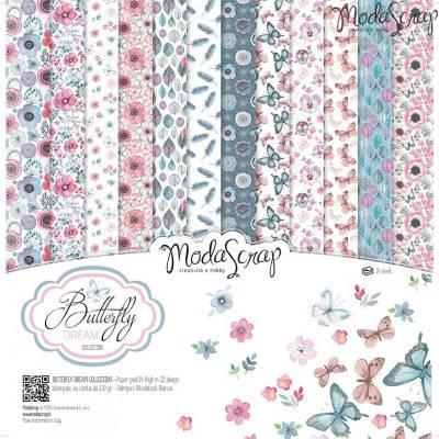 ModaScrap - Paper 30.5cm x 30.5cm - Rêve de papillon