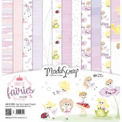 ModaScrap - Paper 30.5cm x 30.5cm - Monde des fées