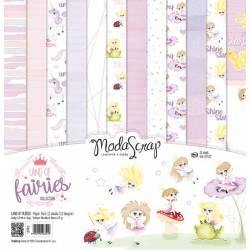 ModaScrap - Paper Pack 30.5 cm x 30.5 cm - Monde des fées