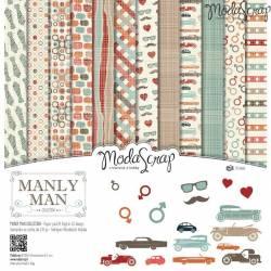 ModaScrap - Paper 30.5cm x 30.5cm - Masculin