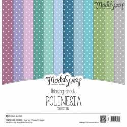 ModaScrap - Paper 30.5cm x 30.5cm - Polynésie