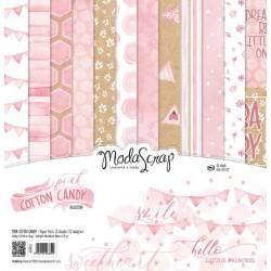 ModaScrap - Paper Pack 30.5 cm x 30.5 cm - Coton rose
