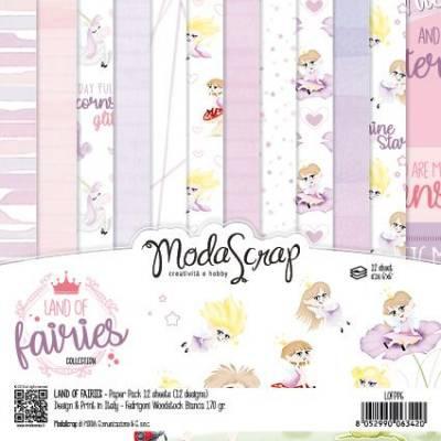 ModaScrap - Paper 15.2x15.2 - Monde des fées