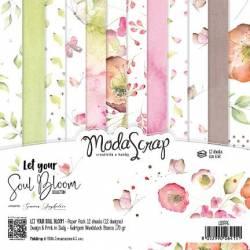 ModaScrap - Paper 15.2x15.2 - Fleurir son âme