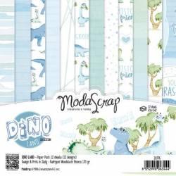 ModaScrap - Paper15.2x15.2 - Dinosaure