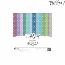 ModaScrap - Paper 15.2x15.2 - Polynésie