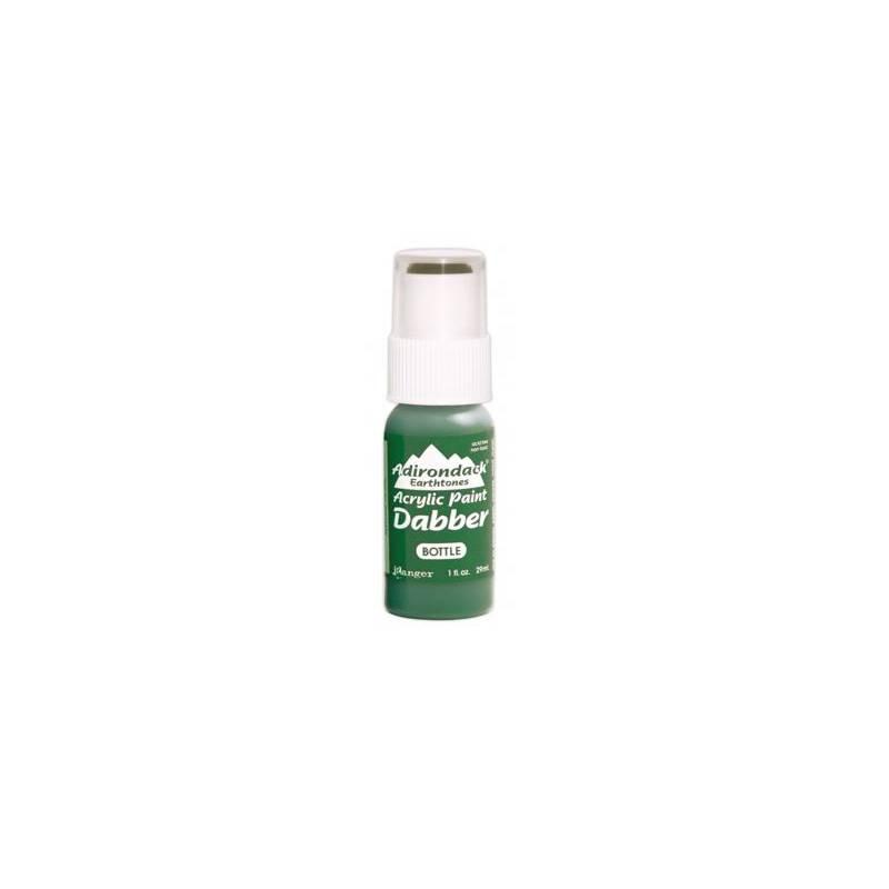 Adirondack - Peinture acrylique - embout mousse - 29ml - Vert bouteille (Earthtones - Bottle)