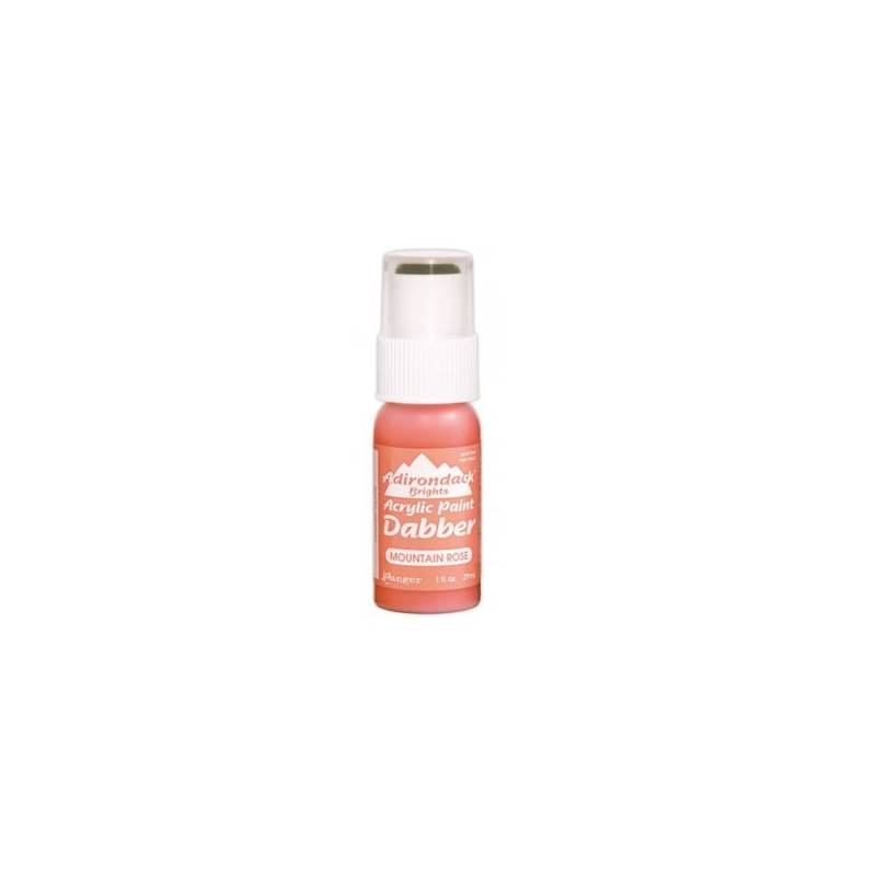 Adirondack - Peinture acrylique - embout mousse - 29ml - Rose (Brights - Mountain Rose)