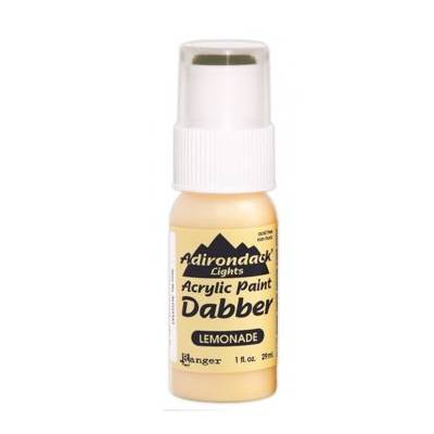 Adirondack - Peinture acrylique - embout mousse - 29ml - Jaune (Lights : Lemonade)