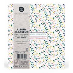 Album Classeur 16x18 cm - Terrazo - Kesi art