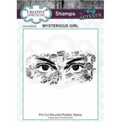 Tampons Cling - Creative Expressions - Mysterious Girl