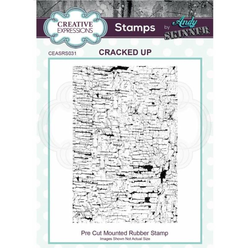 Tampons Cling - Creative Expressions - Cracked up