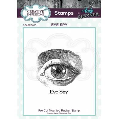 Tampons Cling - Creative Expressions - Eye Spy