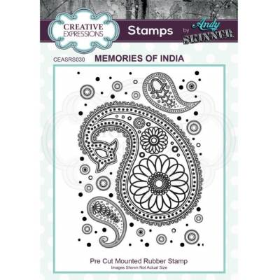 Tampons Cling - Creative Expressions - Memories of India
