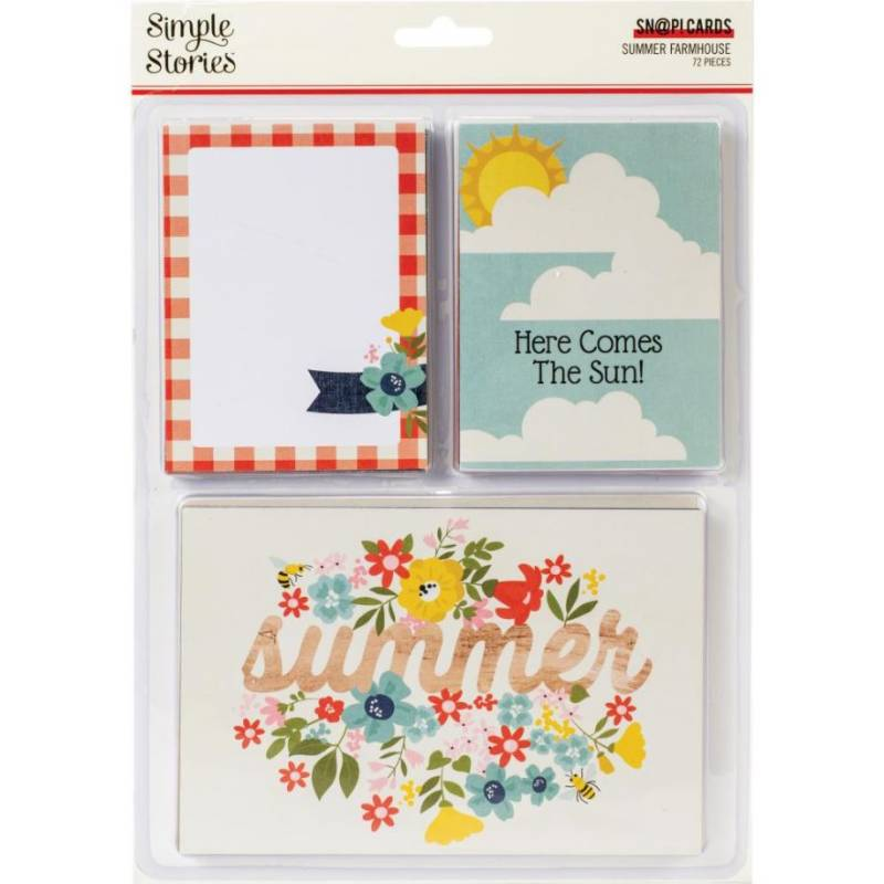 Cartes Simple Stories - Summer Farmhouse