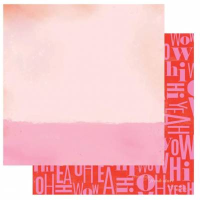 Papier imprimé Heidi Swapp - Oh Yeah