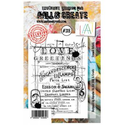 AALL & Create Stamp - 318 - Incadescence