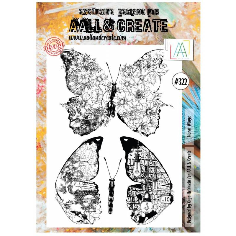 AALL & Create Stamp - 322 - Ailes
