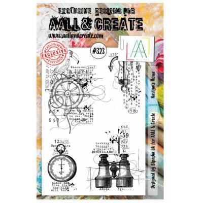 AALL & Create Stamp - 323 - En pleine mer