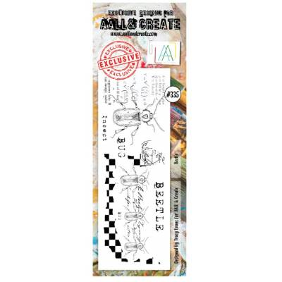 AALL & Create Stamp - 335 - Insecte