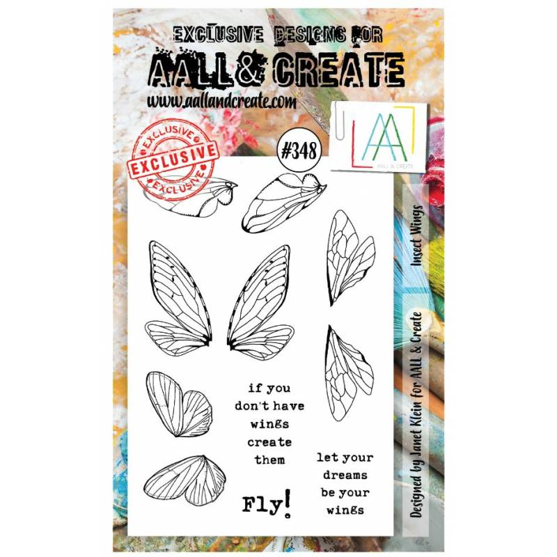 AALL & Create Stamp - 348 - Envol