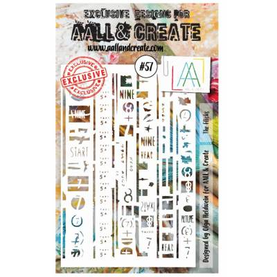 AALL & Create - Pochoir 057 - Signes