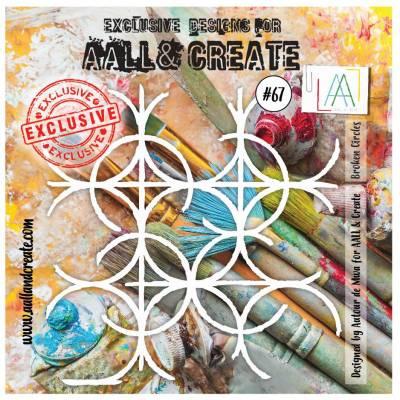 AALL & Create - Pochoir 067 - Filet