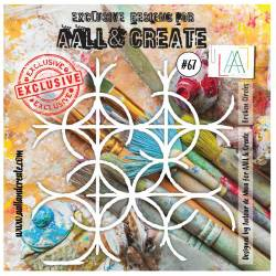 AALL & Create - Pochoir 067 - Filet