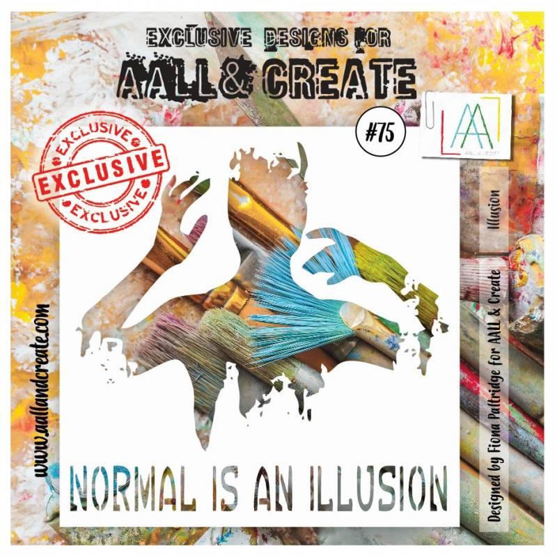 AALL & Create - Pochoir 075 - Buste