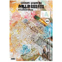 AALL & Create - Pochoir 084 - Dentelles