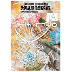 AALL & Create - Pochoir 090 - Mue du papillon